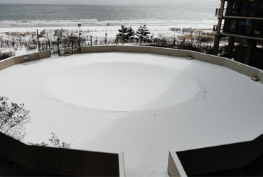 Pool in A Winter